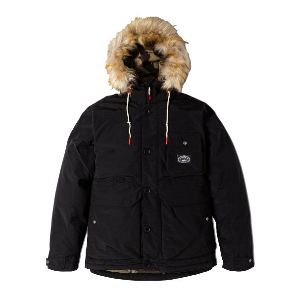 <img class='new_mark_img1' src='//img.shop-pro.jp/img/new/icons16.gif' style='border:none;display:inline;margin:0px;padding:0px;width:auto;' />ALDER PARKA - BLACK