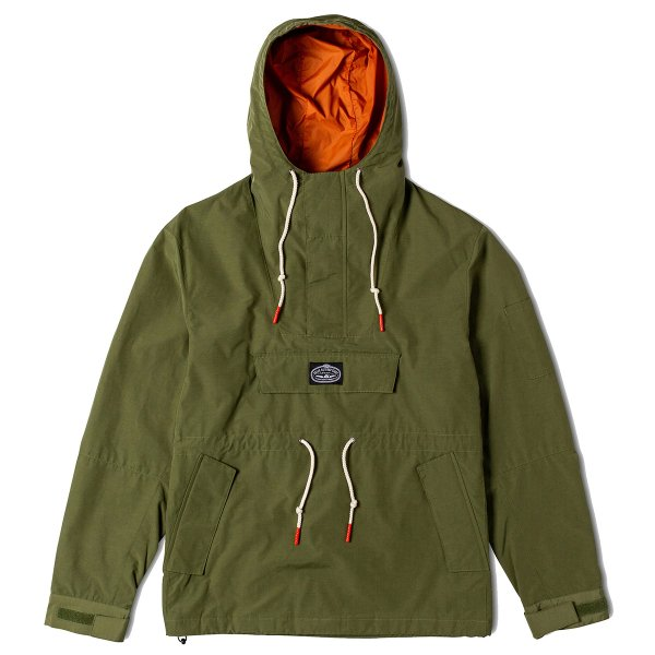 <img class='new_mark_img1' src='//img.shop-pro.jp/img/new/icons16.gif' style='border:none;display:inline;margin:0px;padding:0px;width:auto;' />PINE ANORAK JACKET - OLIVE