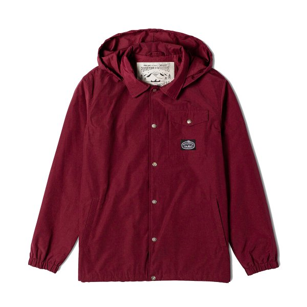 ELM COACHES JACKET  - CORDOVAN