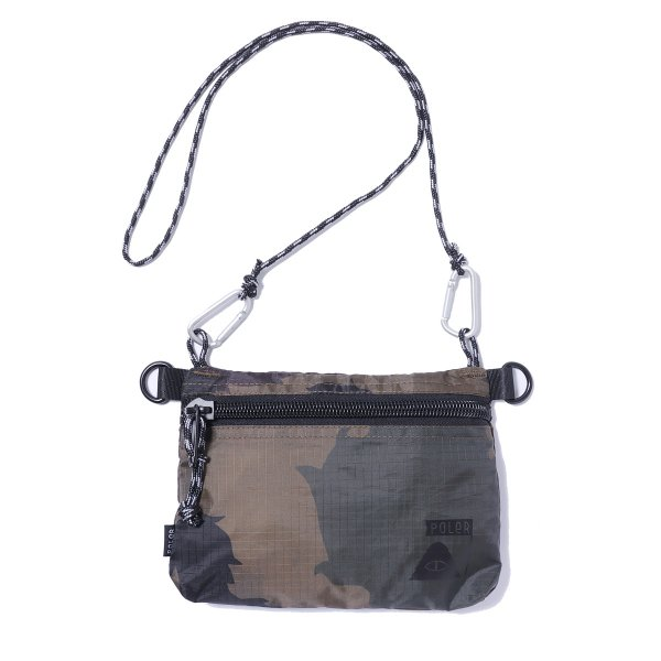 STUFFABLE POUCH SMALL - OLIVE FURRY CAMO