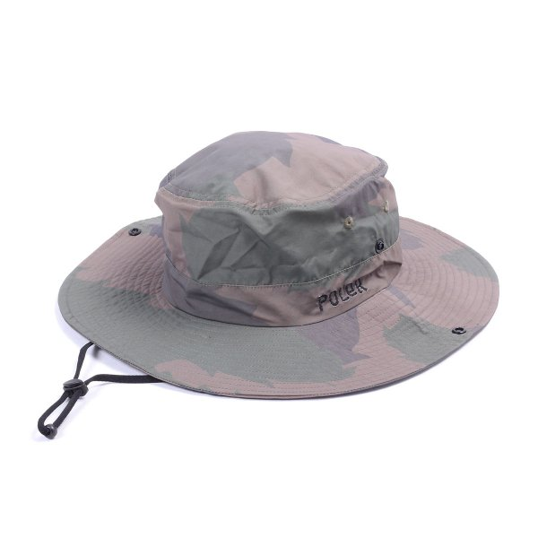 FURRYFONT 2WAY DRAWCORD LONG BRIM HAT - CAMO