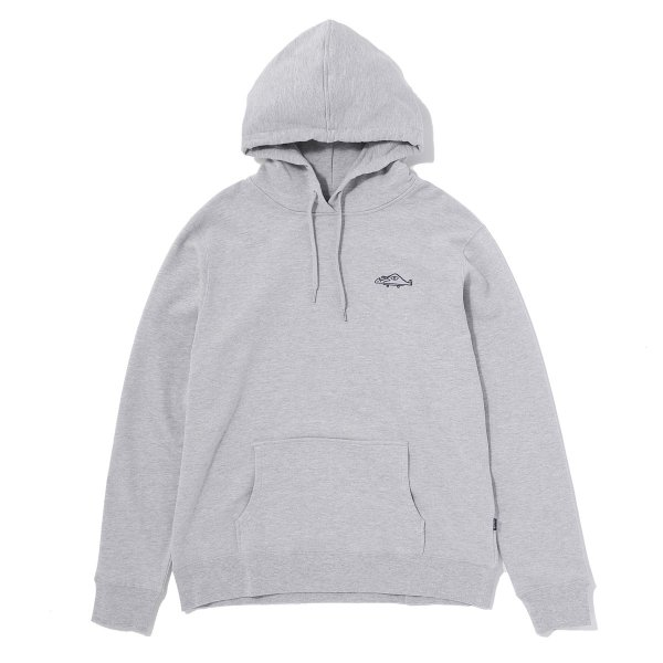 MR PLEASANT HOODIE - GREY HEATHER