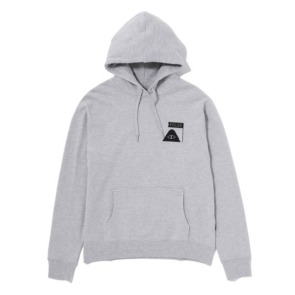 ODD BIRD HOODIE - GREY HEATHER