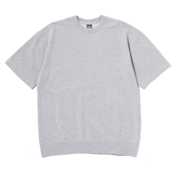 CV BAGGY CREWNECK S/S TEE - GRAY HEATHER