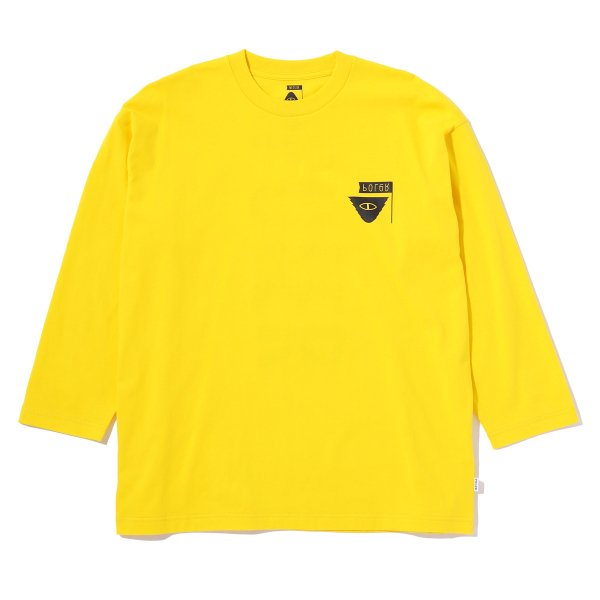 7/10 RELOP BOX TEE - YELLOW