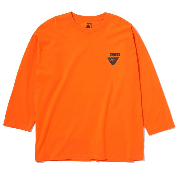 7/10 RELOP BOX TEE - ORANGE