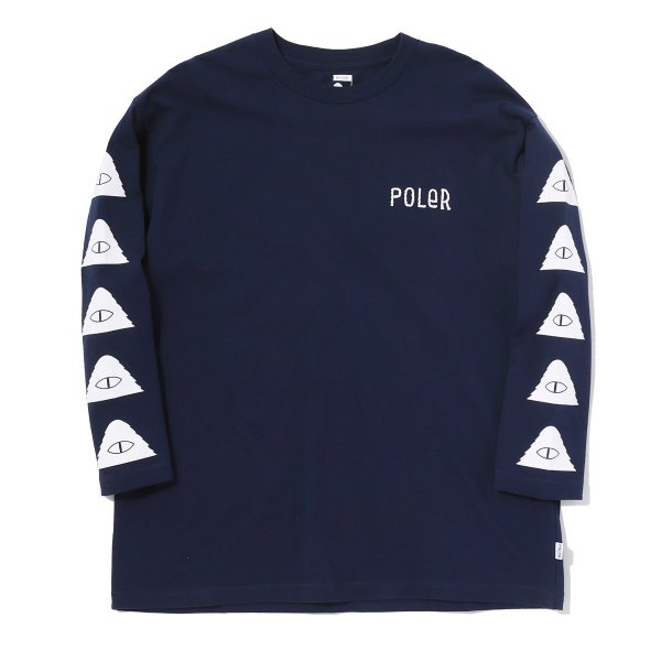 7/10 FURRY CYCLOPS BOX TEE - NAVY