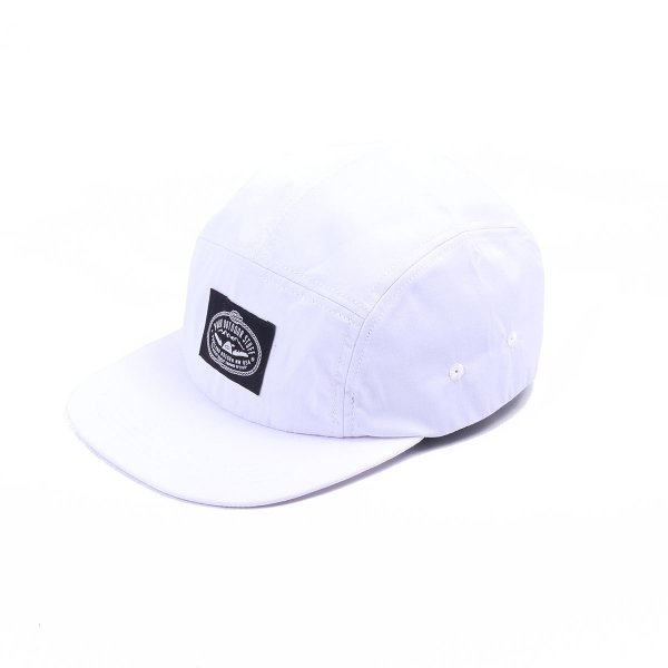 LASSO 5PANEL CAP - WHITE