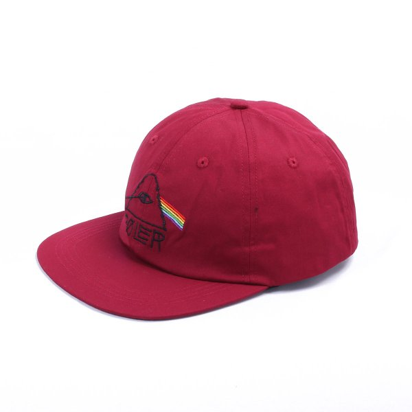 PSYCHEDELIC 6PANEL CAP - WINE