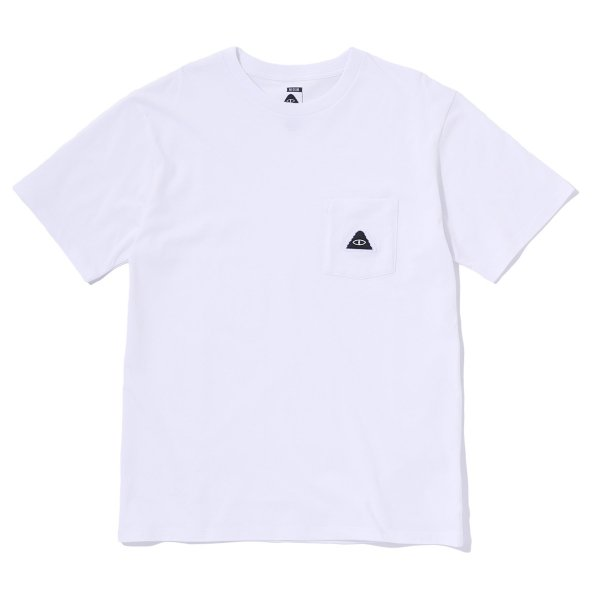 EYE PATCH POCKET TEE - WHITE