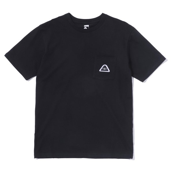 EYE PATCH POCKET TEE - BLACK