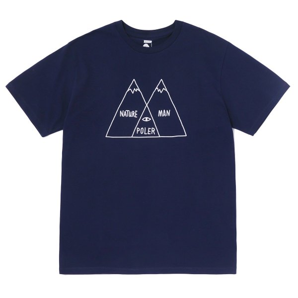 VENN DIAGRAM TEE - NAVY