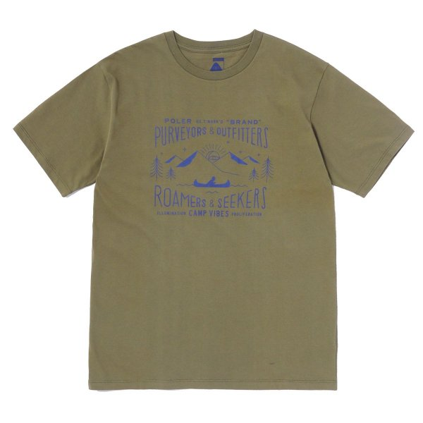 <img class='new_mark_img1' src='//img.shop-pro.jp/img/new/icons16.gif' style='border:none;display:inline;margin:0px;padding:0px;width:auto;' />LABEL-SHIRT TEE - OLIVE