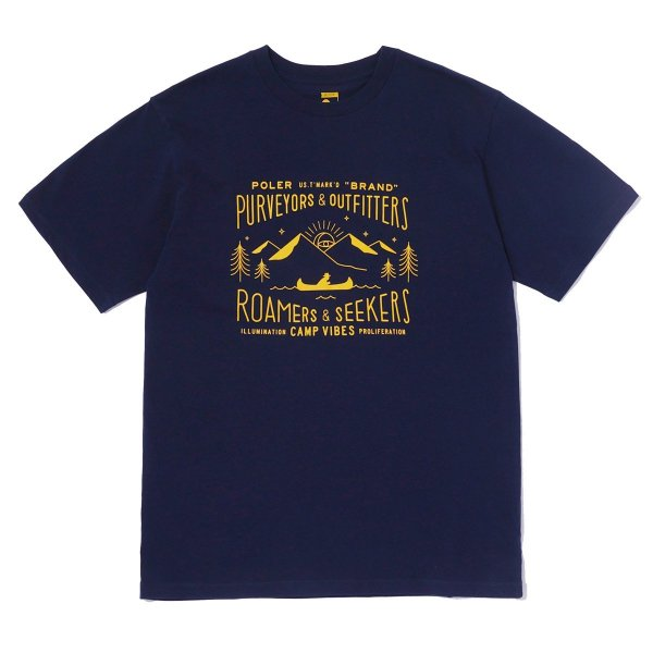 <img class='new_mark_img1' src='//img.shop-pro.jp/img/new/icons16.gif' style='border:none;display:inline;margin:0px;padding:0px;width:auto;' />LABEL-SHIRT TEE - NAVY