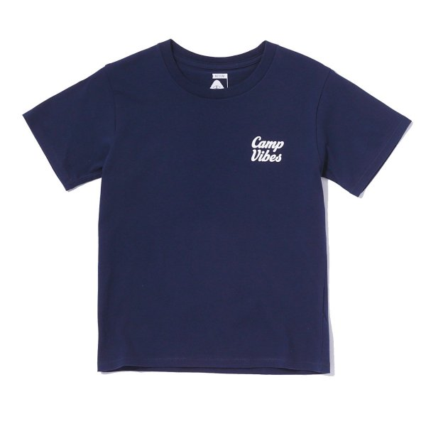 <img class='new_mark_img1' src='//img.shop-pro.jp/img/new/icons16.gif' style='border:none;display:inline;margin:0px;padding:0px;width:auto;' />KIDS CAMPVIVES TEE - NAVY
