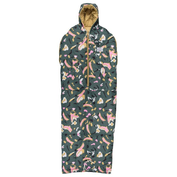 THE REVERSIBLE NAPSACK - TREETOPCAMO