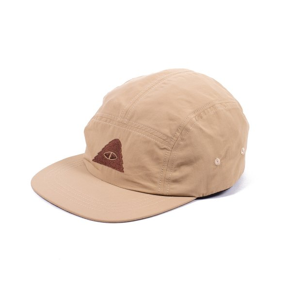 CYCLOPS NYLON 5PANEL CAP - KHAKI
