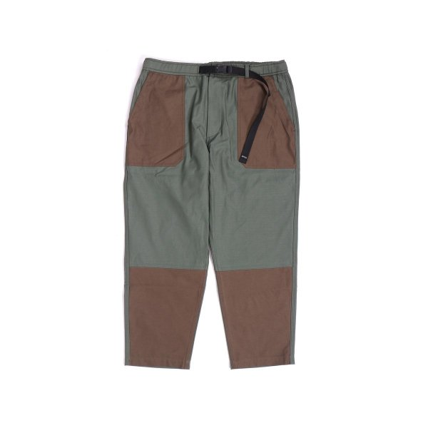 <img class='new_mark_img1' src='//img.shop-pro.jp/img/new/icons16.gif' style='border:none;display:inline;margin:0px;padding:0px;width:auto;' />9/10 BACKSATIN BAKER PANTS - OLIVE