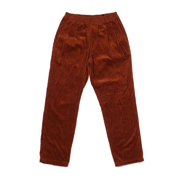 <img class='new_mark_img1' src='//img.shop-pro.jp/img/new/icons16.gif' style='border:none;display:inline;margin:0px;padding:0px;width:auto;' />CORDUROY EASY PANTS - CHOCOLATE