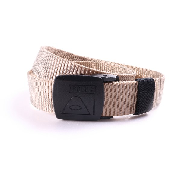 SUMMIT CLIMBING NYLON BELT - BEIGE