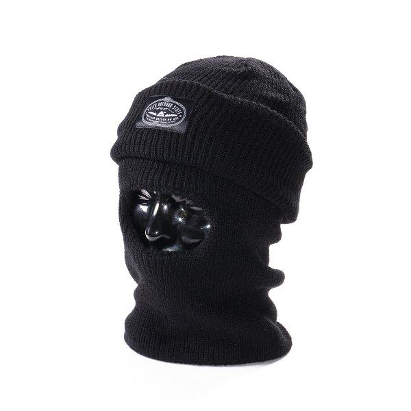 BALACLAVA WATCH CAP - BLACK