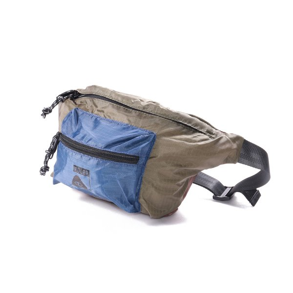 STUFFABLE FANNY PACK -OLIVE/NAVY