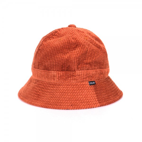 CORDUROY BELL HAT - CHOCOLATE