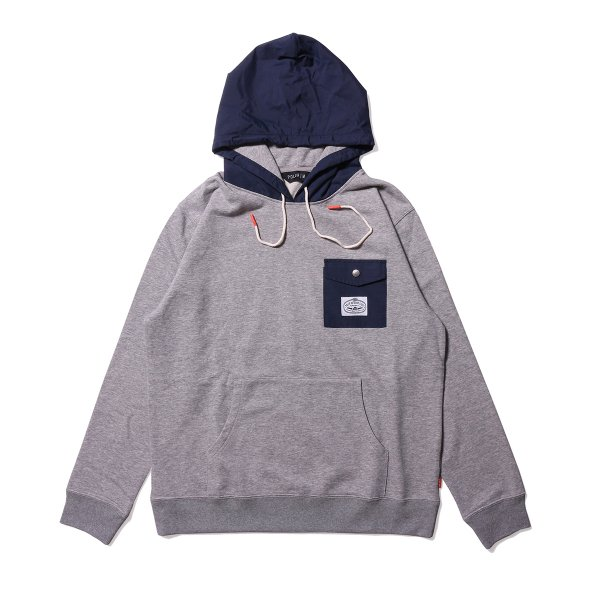 BASSWOOD HOODIE - HEATHER GRAY