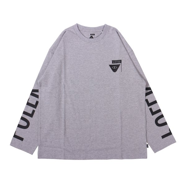 REVERSE SUMMIT-RELOP JERSEY L/S TEE - HEATHER GRAY