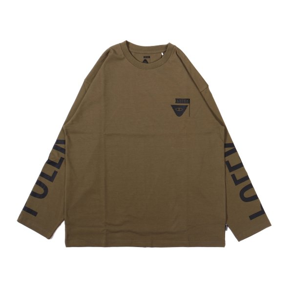 REVERSE SUMMIT-RELOP JERSEY L/S TEE - OLIVE