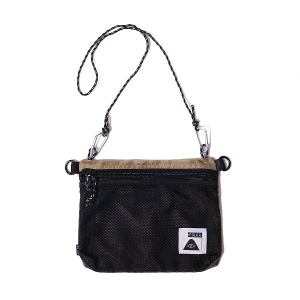 STUFFABLE POUCH - BEIGE/OLIVE