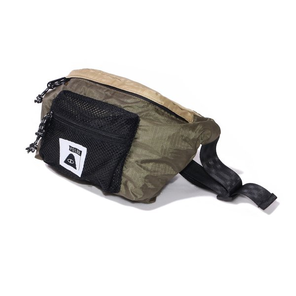 STUFFABLE FANNY PACK - BEIGE/OLIVE