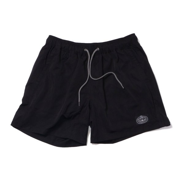 POLER 2WAY BAGGY SHORTS - BLACK