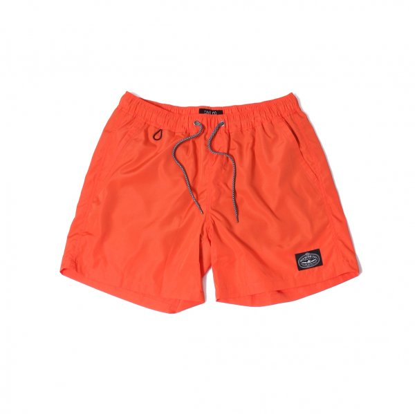 POLER 2WAY BAGGY SHORTS - ORANGE