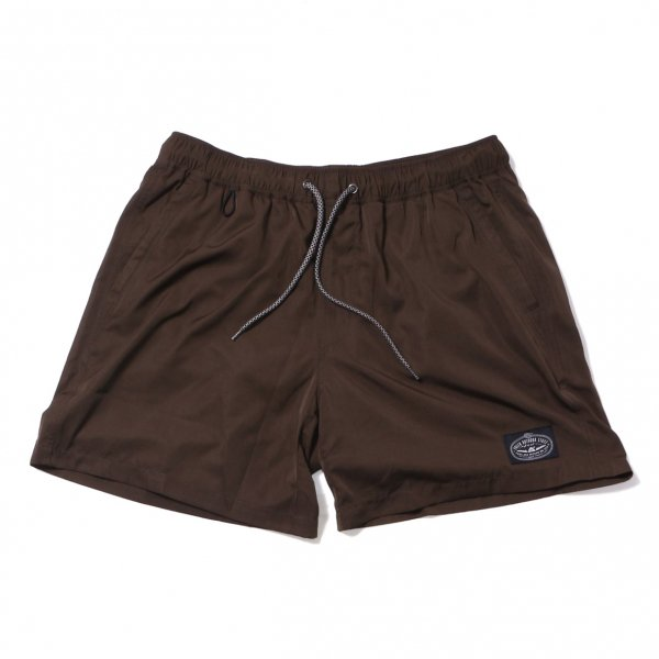 POLER 2WAY BAGGY SHORTS - OLIVE