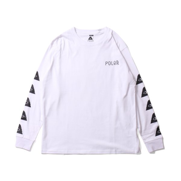 CYCLOPS L/S TEE - WHITE