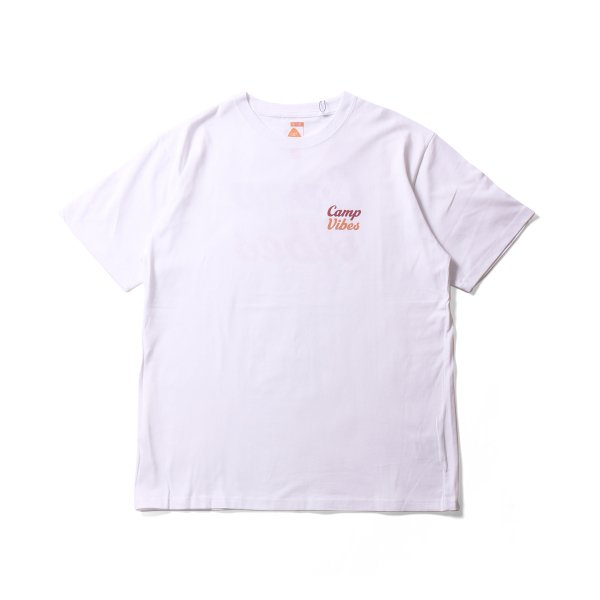 CAMP VIBES TEE - WHITE