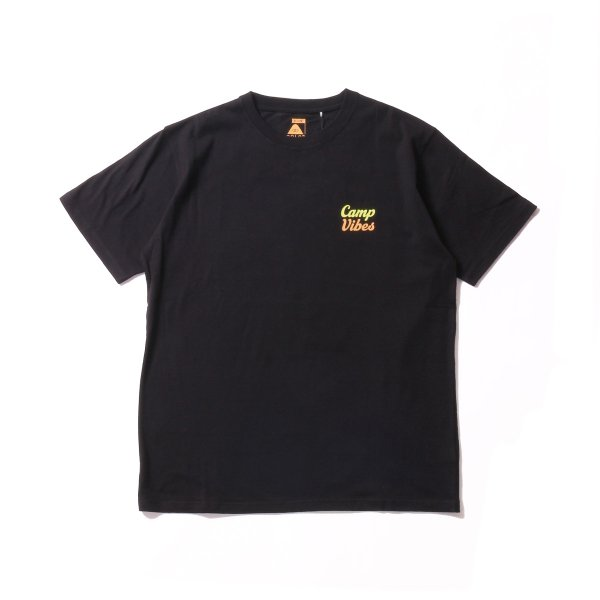 CAMP VIBES TEE - BLACK