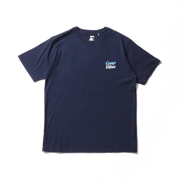 CAMP VIBES TEE - NAVY