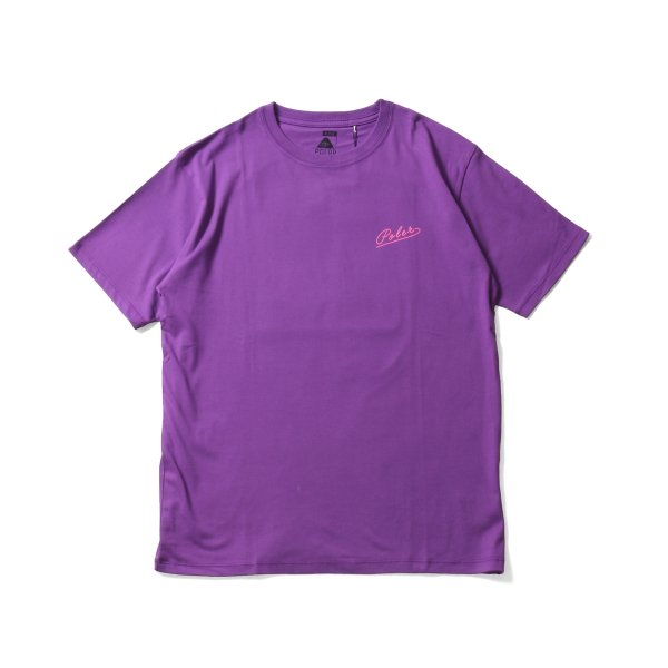 SKATE PHOTO TEE - PURPLE