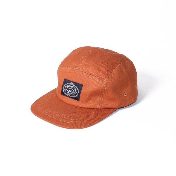 LASSO 5PANEL CAP - CARAMEL
