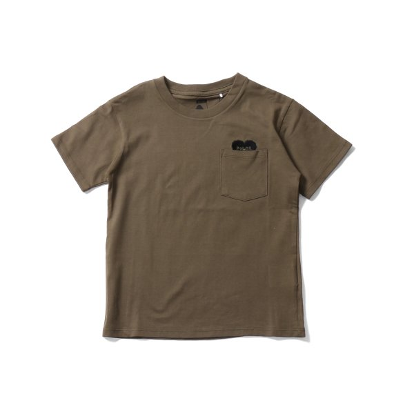 KIDS RISING HEART POCKET TEE - OLIVE