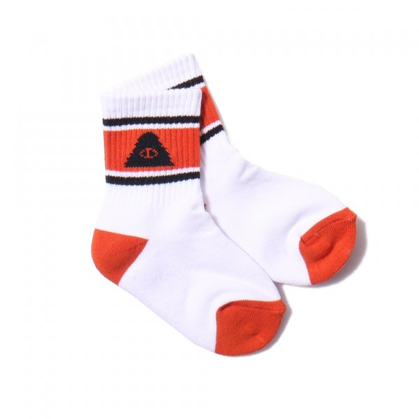 KIDS CYCLOPS MID SOCKS - ORANGE
