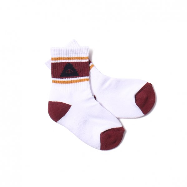 KIDS CYCLOPS MID SOCKS - WINE