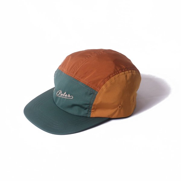 ARROWHEAD KIDS CRAZY PATTERN 5PANEL CAP - BROWN