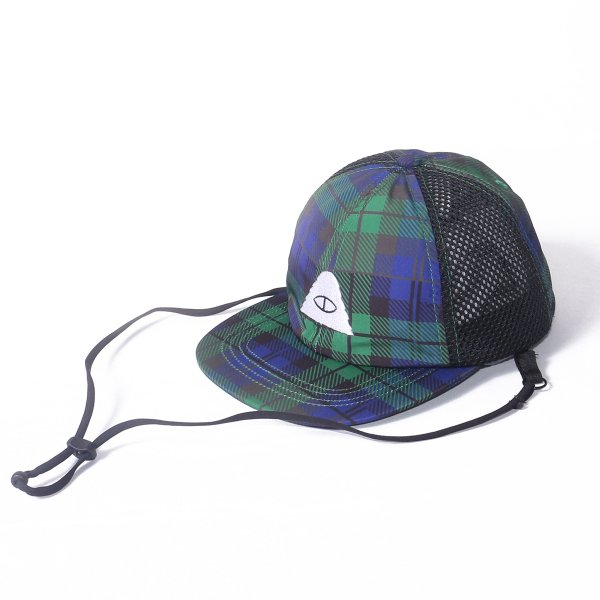 KIDS CYCLOPS 2WAY DRAWCORD MESH CAP - BLACKWATCH
