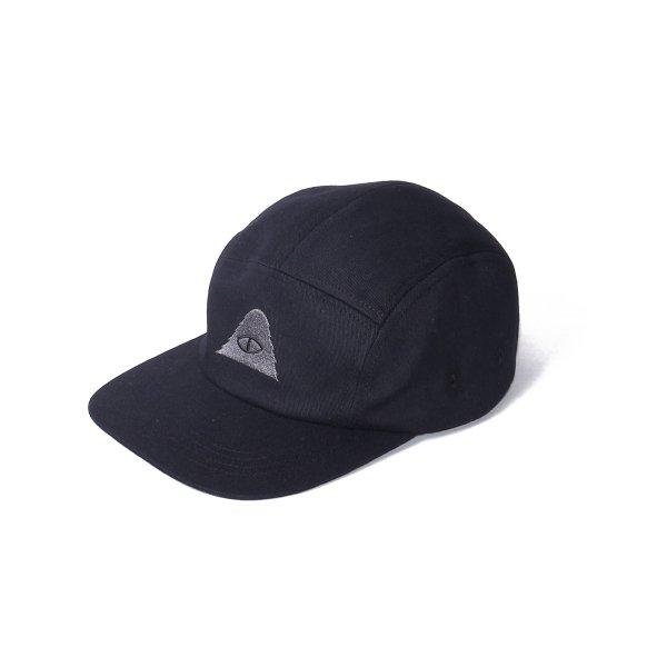 CYCLOPS 5PANEL DRAWCORD CAP - BLACK