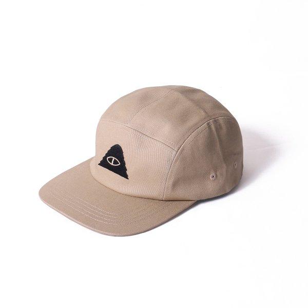 CYCLOPS 5PANEL DRAWCORD CAP - BEIGE