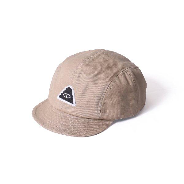 EYE PATCH CLIMBING DRAWCORD CAP - BEIGE
