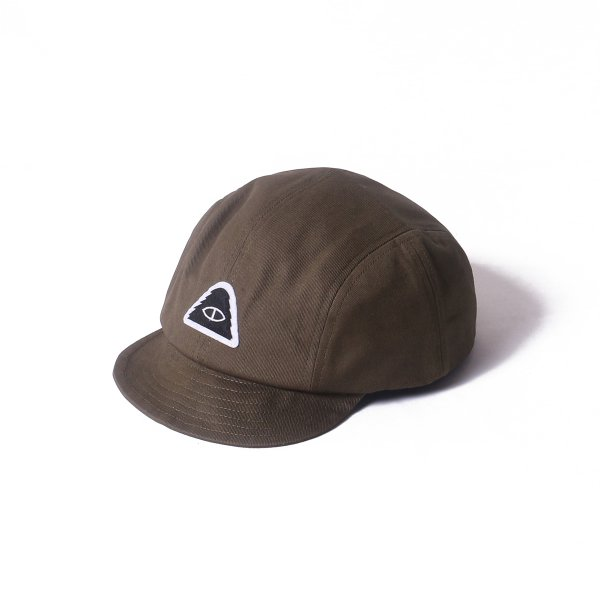EYE PATCH CLIMBING DRAWCORD CAP - OLIVE